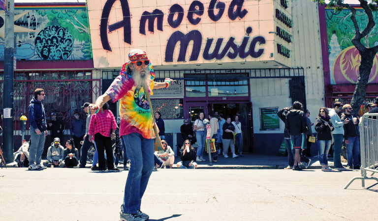 San Francisco's spirit of hippie culture