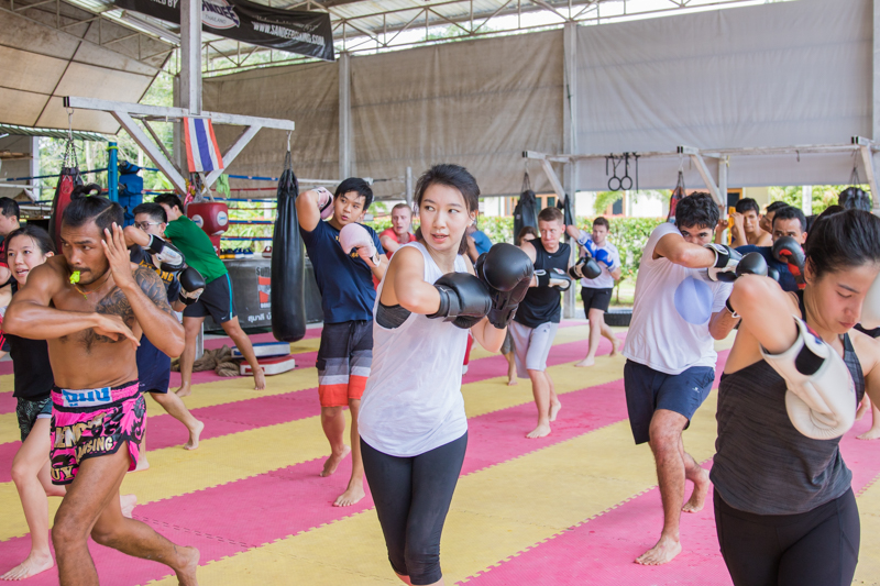 A good way with Muay Thai training and weight loss in Thailand to improve your health